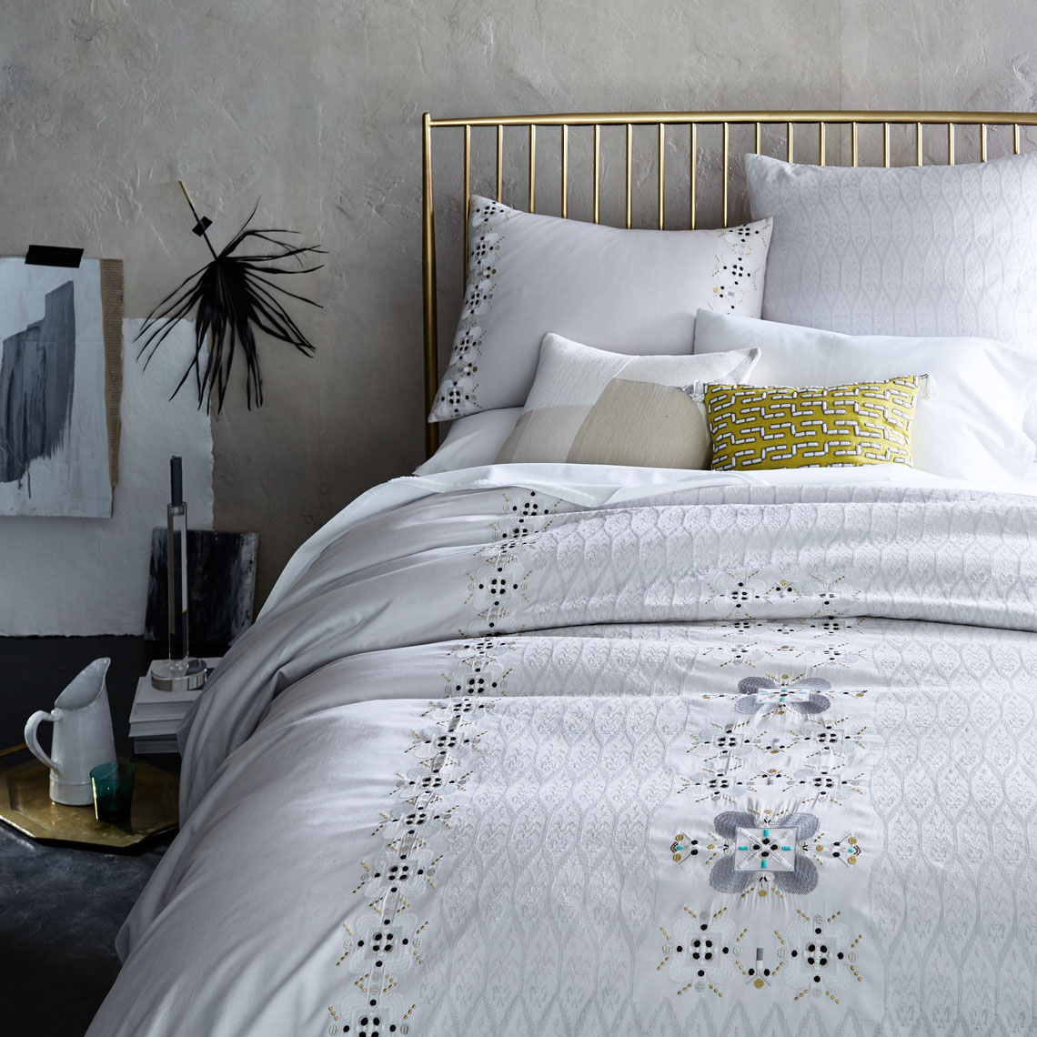 pip-collection-medallion-tile-embroidered-bedding-duvet-frost-grey-fq-std-sham-euro-v2-su17-188